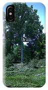 Tree By A Pond IPhone Case