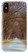 Tree Lined Lane IPhone Case
