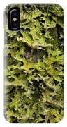 Tree Lungwort (lobaria Pulmonaria) IPhone Case