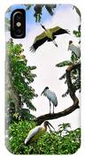 Tree Of Storks  IPhone Case