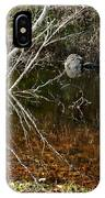 Tree Reflections Stoney Creek IPhone Case