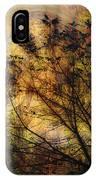 Tree Stamp IPhone Case