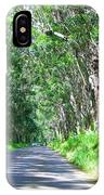 Tree Tunnel IPhone Case