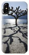 Tree With Shadow IPhone Case