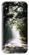 Treelined Road IPhone Case