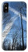 Trees And Trails IPhone Case