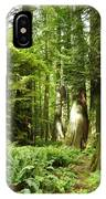 Trees At Cathedral Grove IPhone Case