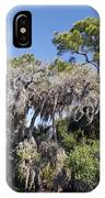 Trees Decorated With Moss IPhone Case