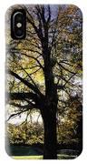 Trees During Autumn IPhone Case