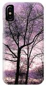 Trees In Glorious Calm IPhone Case