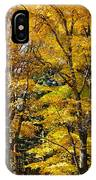 Trees Of Gold IPhone Case
