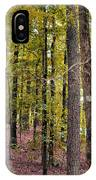 Trees Of Golden Hues IPhone Case