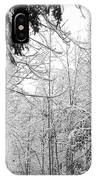 Trees Under The Snow IPhone Case