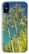 Treetop Color IPhone Case