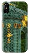 Trellis At Schloss Sanssouci IPhone Case