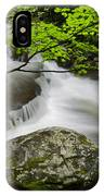Tremont Spring In Great Smoky Mountains IPhone Case