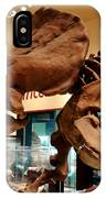 Triceratops At The Smithsonian IPhone Case