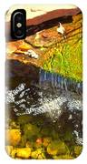 Trickle Waterfall IPhone Case
