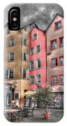 Tricolor Houses IPhone Case