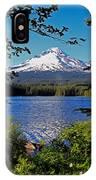 Trillium Lake At Mt. Hood II IPhone Case