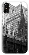 Trinity Church New York City IPhone Case
