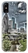Trippy Houston IPhone Case