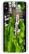 Triptych Of Water Hyacinth IPhone Case