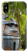 Tropical Tikis IPhone Case