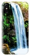 Tropical Waterfall And Pond IPhone Case