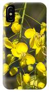 Tropical Yellow Flowers IPhone Case