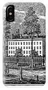Troy Female Seminary, 1841 IPhone Case