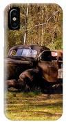 Truck Graveyard IPhone Case