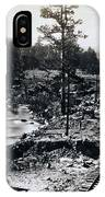 Truckee River - California Looking Toward Donner Lake - C 1865 IPhone Case