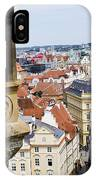 Trumpeter - Prague Old Town Square IPhone Case