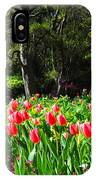 Tulips And Woods IPhone Case