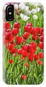 Tulips Galore IPhone Case