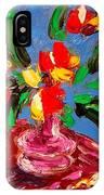 Tulips Vase IPhone Case