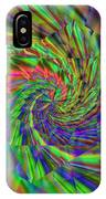 Tumbling Down The Rainbow Highway IPhone Case