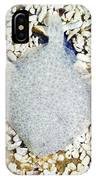 Turbot On The Seabed IPhone Case