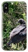 Black Vulture - Buzzard IPhone Case