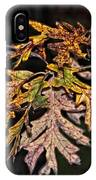 Turning Leaves IPhone Case