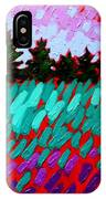 Turquoise Field IPhone Case