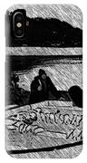 Turr Hunt Sketch IPhone Case