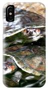 Turtle Two Turtle Love IPhone Case