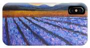 Tuscany Lavender Field IPhone Case