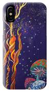 Twisting In The Night IPhone Case
