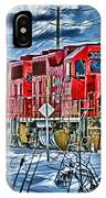 Two Cp Rail Engines Hdr IPhone Case