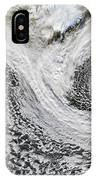 Two Cyclones Forming IPhone Case