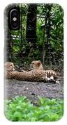 Two Headed Cheetah IPhone Case