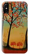 Two Small Trees IPhone Case